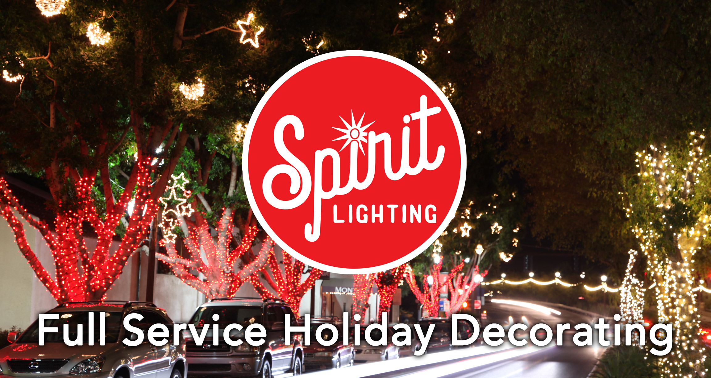 SPIRIT LIGHTING IS A FULL SERVICE HOLIDAY DECORATING COMPANY IN PHOENIX, ARIZONA