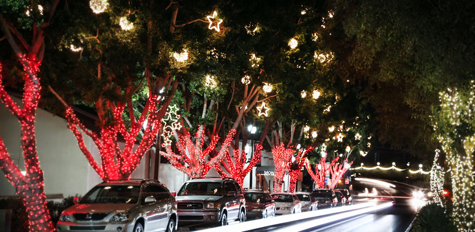 Christmas Lights and Decorations. Full service leasing, sales, design, installation, maintenance, and removal of Christmas and holiday lights and decor in Phoenix, Ariziona.